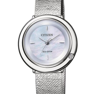Orologio Citizen Ambiluna con Quadrante Madreperlato e Diamante cod. EM0640-82D