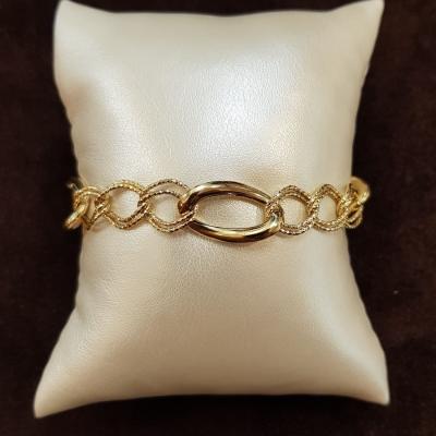 Bracciale In Oro Giallo Da Donna 18Kt Cod. 910024363019